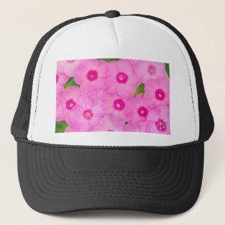 beautiful floral decoration trucker hat
