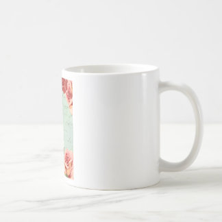 beautiful floral design Vintage Rose Coffee Mug