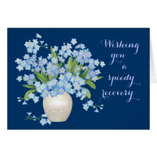 Beautiful Floral Get Well Wishes Card