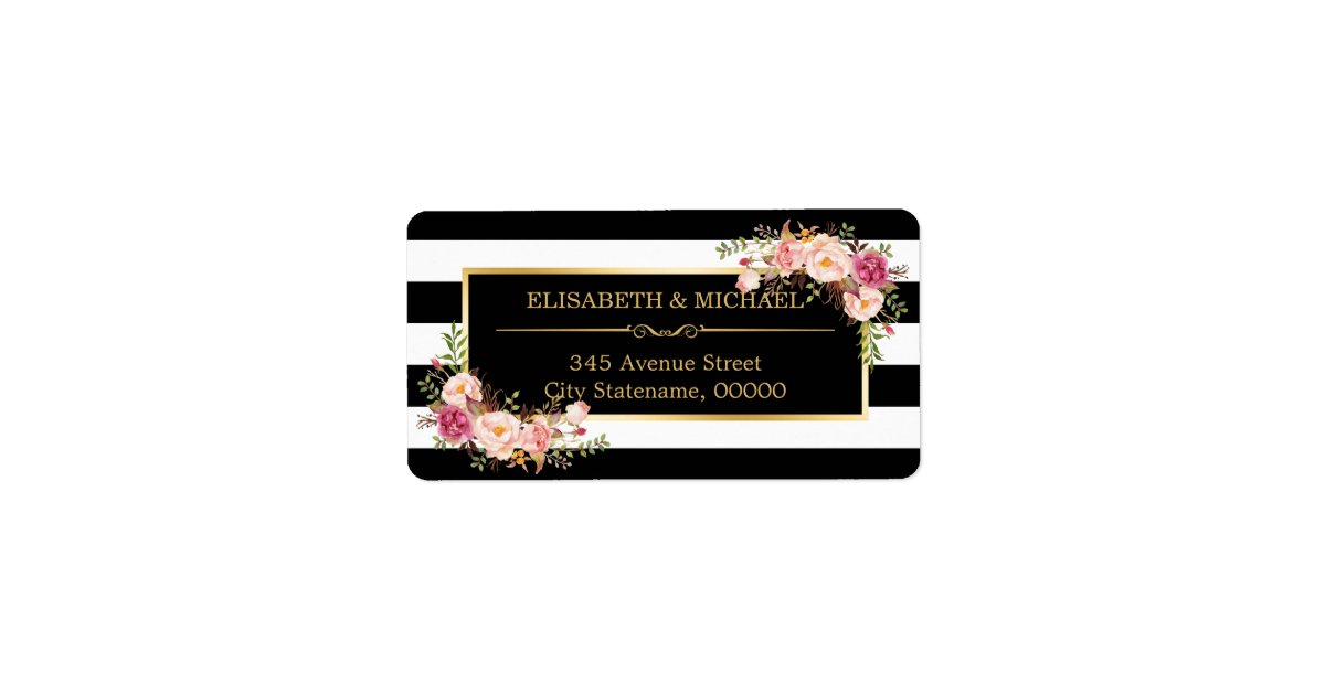baby shower shipping, address, & return address labels | zazzle, Baby shower invitations