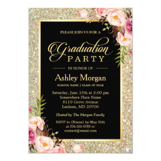 graduation party invitations zazzle. Black Bedroom Furniture Sets. Home Design Ideas