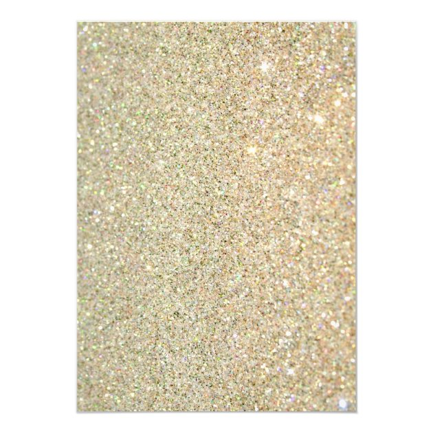 Beautiful Floral Gold Sparkles Graduation Party Card (back side)
