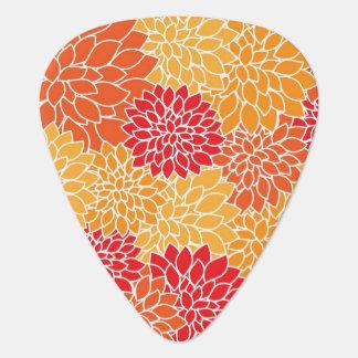 Beautiful Floral Guitar Pick Pick