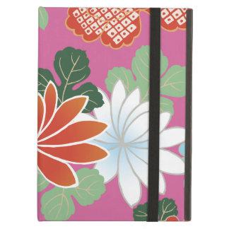 Beautiful Floral Kimono Pattern Japanese Fine Art Case For iPad Air