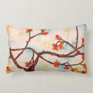 Beautiful Floral Painting of Blooms. Pillow