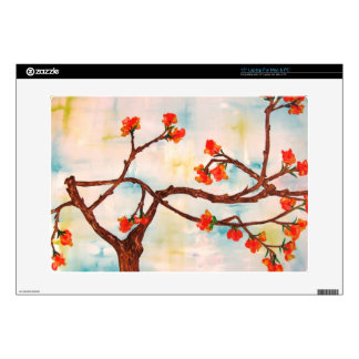 Beautiful Floral Painting of Blooms. Laptop Skin