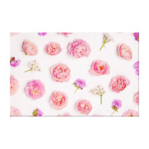 Beautiful floral pattern canvas print