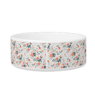 Beautiful Floral Pattern Girly Bowl