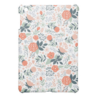 Beautiful Floral Pattern Girly Case For The iPad Mini