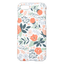 Beautiful Floral Pattern Girly iPhone 8/7 Case