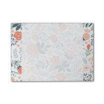 Beautiful Floral Pattern Girly Post-it Notes
