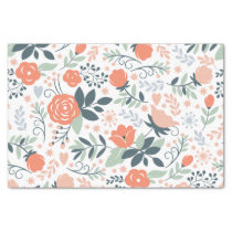 Beautiful Floral Pattern Girly Tissue Paper