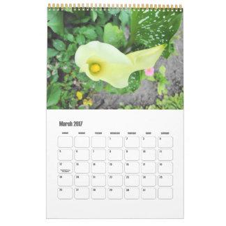 Beautiful Floral Photography Calendar 2017