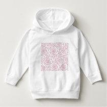 beautiful, floral.pink,white,peonies,girly,feminin hoodie