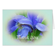beautiful floral thank you card. cards