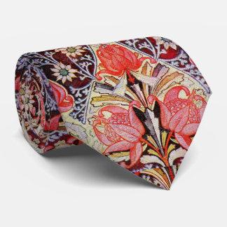 Beautiful Floral Vintage Wallpaper Neck Tie