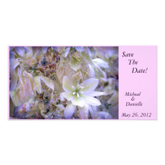 """""""Beautiful Floral's""""  Save The Date Card"""