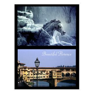 Beautiful Florence | Postcard