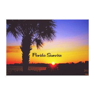 Beautiful Florida Sunrise Canvas Print