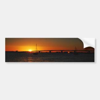 Beautiful  Florida Sunset Bumper Sticker