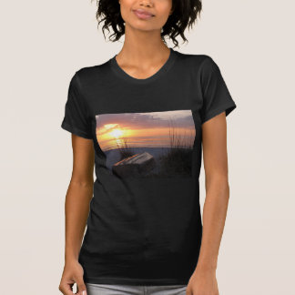 Beautiful Florida Sunset with boat Tees