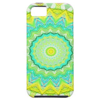 Beautiful Flourescent Pastel Vibrant Mandala iPhone SE/5/5s Case