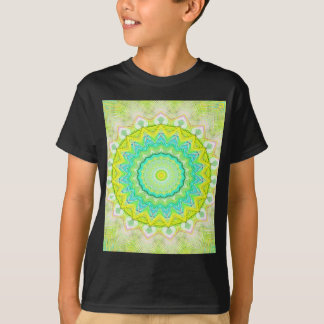 Beautiful Flourescent Pastel Vibrant Mandala T-Shirt
