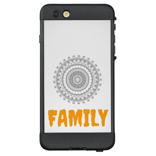 Beautiful Flower And Family Text Design  LifeProof NÜÜD iPhone 6 Plus Case