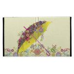 Beautiful Flower & Bird Umbrella/Parasol iPad Cases