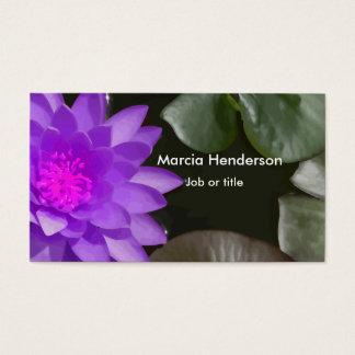 Beautiful Flower Business Cards