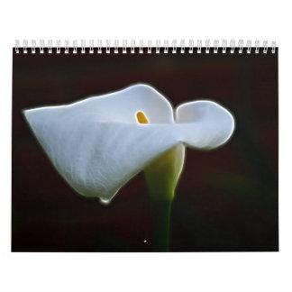 Beautiful Flower calendar for 2014