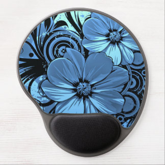 Beautiful Flower Design Gel Mouse Pad