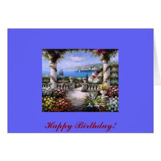 Beautiful Flower Garden Card
