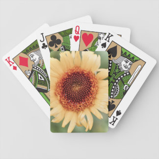 Beautiful Flower Gift Bicycle Playing Cards