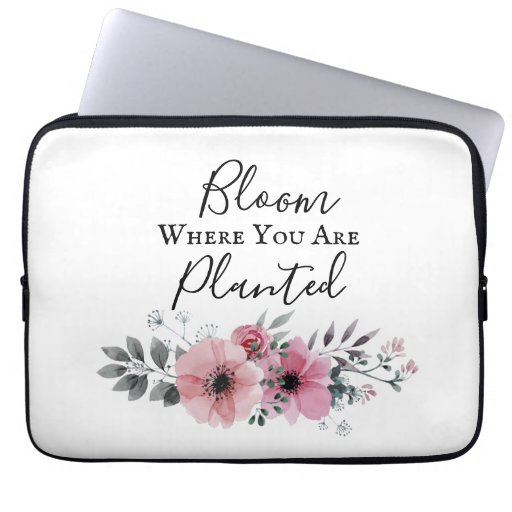 Beautiful Flower laptop sleeve