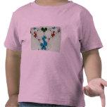 Beautiful Flower like fractal design T-shirts
