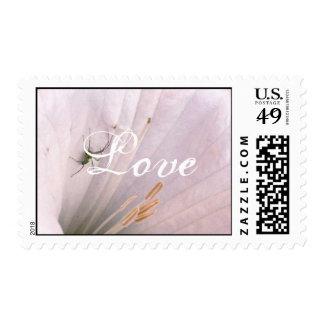 Beautiful Flower Love 1med Stamp