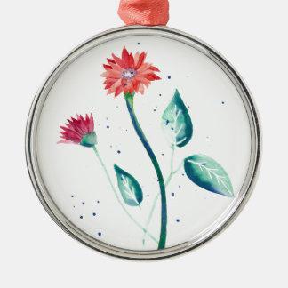 Beautiful Flower Metal Ornament