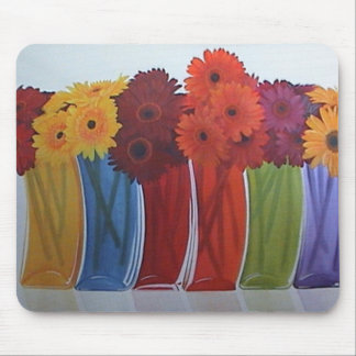 Beautiful flower mouse mat mouse pad