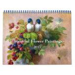 Beautiful Flower Painting Fine Art Calendar