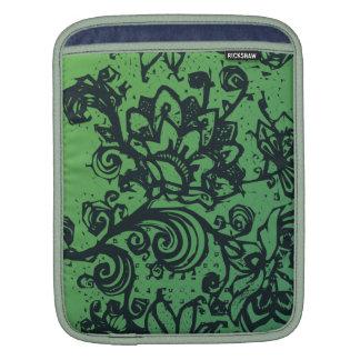 Beautiful flower pattern makes a great decoration iPad sleeve