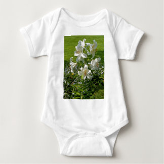 Beautiful Flower Print Baby Bodysuit