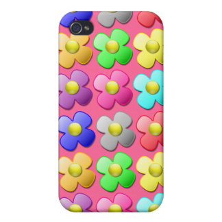 Beautiful Flower WOW iPhone 4 Covers