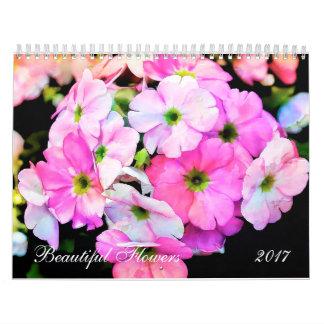 BEAUTIFUL FLOWERS 2017 CALENDAR