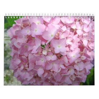 Beautiful Flowers all Year Long-2012 Calendar