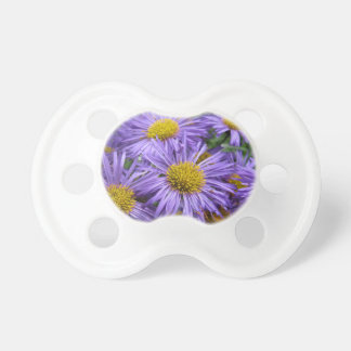 Beautiful flowers at every angle pacifier