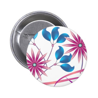 Beautiful Flowers Buttons