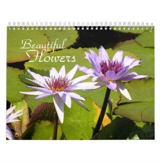 Beautiful Flowers Calendar calendar
