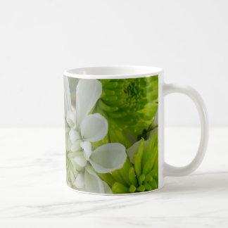 Beautiful flowers coffee mugs