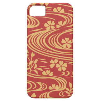 Beautiful flowers flowing river floats iPhone SE/5/5s case